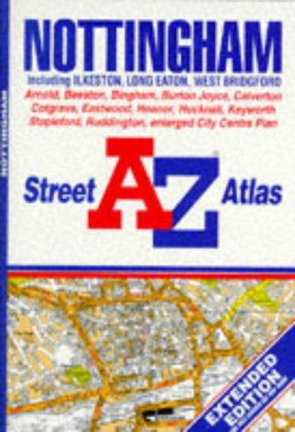 A. to Z. Street Atlas of Nottingham: Geographers A-Z Map