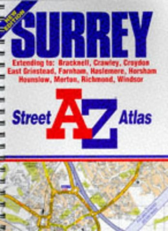 A-Z Surrey Street Atlas: Geographers' A-Z Map