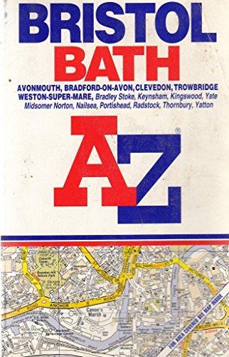 A-Z Bristol, Bath (Street Atlas): Geographers A-Z Map