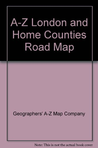 A-Z London and Home Counties Road Map (0850394392) by Geographers' A-Z Map Company