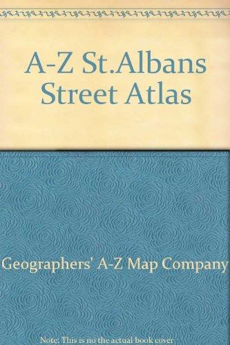 A-Z St.Albans Street Atlas (0850395437) by Geographers' A-Z Map Company