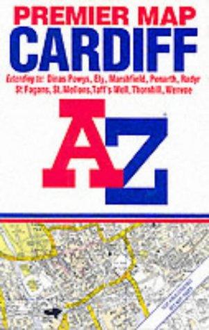 A-Z Premier Cardiff Street Map (9780850395631) by Geographers' A-Z Map Company