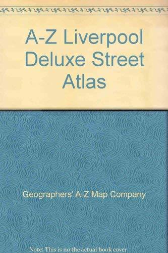 9780850395952: A-Z Liverpool Deluxe Street Atlas