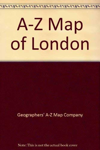 9780850396010: A-Z Map of London