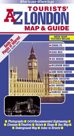 9780850396188: A-Z London Big Wheel Tourists Map and Guide