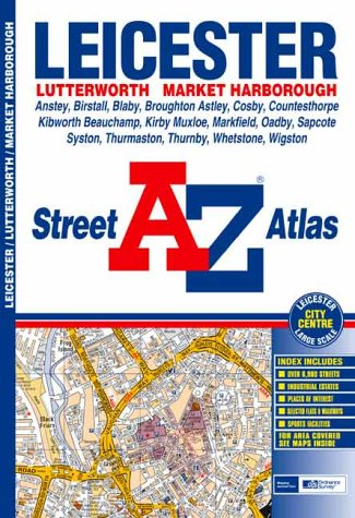 A-Z Leicester Street Atlas: Geographers A-Z Map