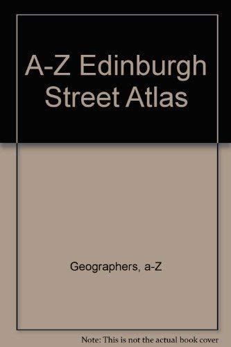 9780850397093: A-Z Edinburgh Street Atlas