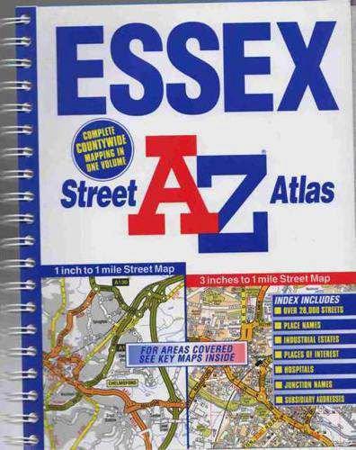 9780850397123: A-Z Essex Street Atlas