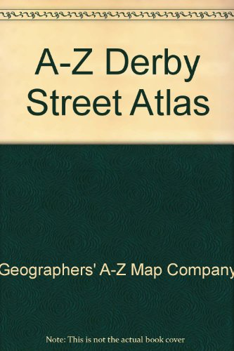 A-Z Derby Street Atlas (0850397219) by Geographers' A-Z Map Company