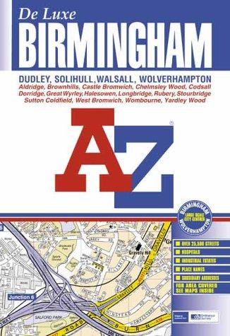 A-Z Birmingham: Deluxe Edition (Street Atlas): Geographers A-Z Map