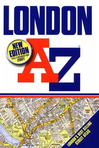 9780850397529: A-Z London (Street Atlas)