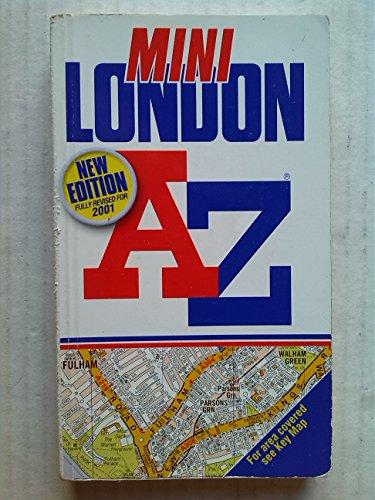 9780850397550: A-Z of London Mini Street Atlas