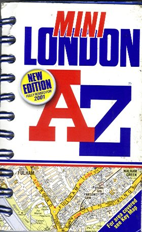 A-Z London Mini Spiral: Geographers' A-Z Map