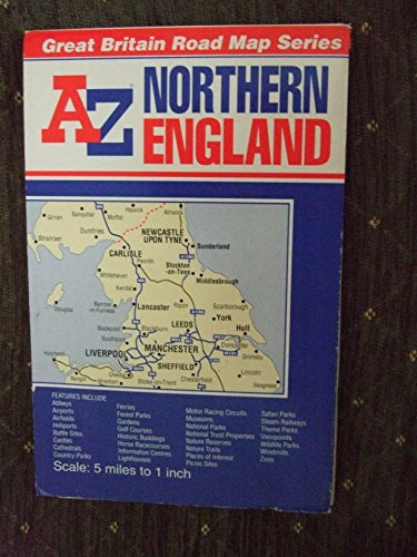 9780850397635: Northern England Road Map