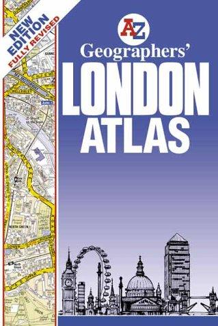London Atlas Map.Geographers London Atlas Abebooks