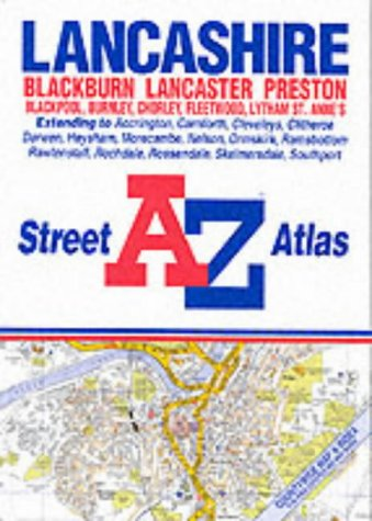 9780850398328: A-Z Lancashire Street Atlas
