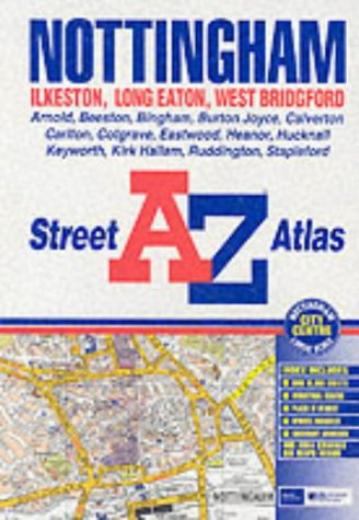 A-Z Street Atlas of Nottingham: Geographers A-Z Map