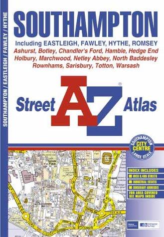 9780850398533: A-Z Southampton Street Atlas