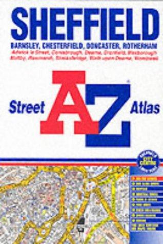 A-Z Sheffield Colour Atlas (Street Atlas): Geographers A-Z Map