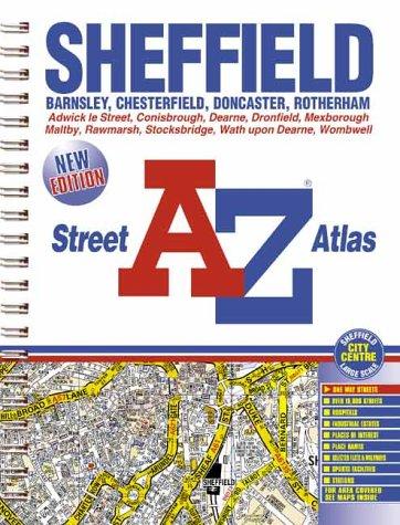Sheffield Street Atlas: Geographers A-Z Map