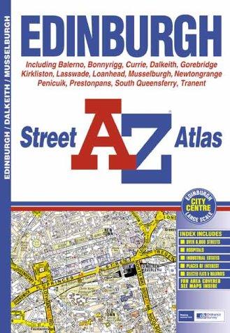 9780850398717: A-Z Edinburgh Street Atlas