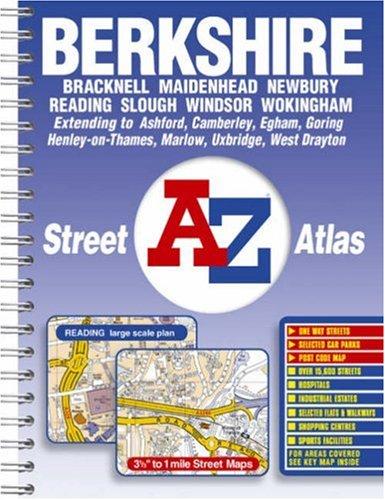 Berkshire Street Atlas: Geographers A-Z Map