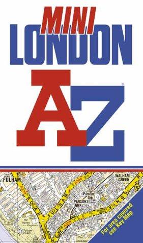 9780850398861: A-Z Mini Street Atlas of London