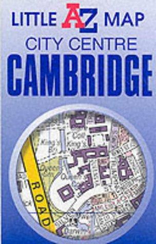 9780850399035: Cambridge City Centre (Little A-Z Map)