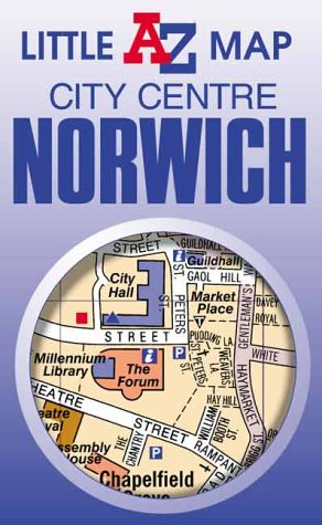 9780850399059: Norwich City Centre (Little A-Z Map)