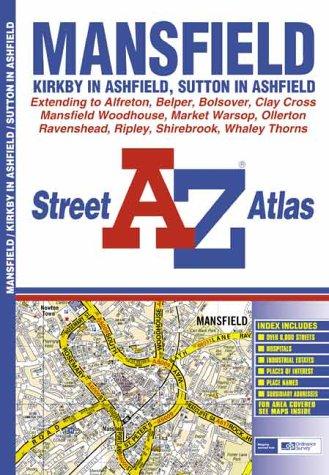 9780850399189: A-Z Mansfield Atlas (Street Atlas)