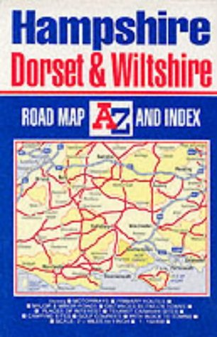 9780850399264: Hampshire, Dorset and Wiltshire Road Map (Road Maps)