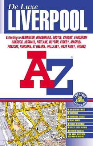 9780850399356: A-Z Liverpool Deluxe Street Atlas