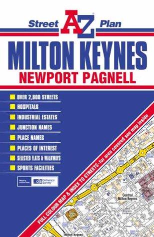 Milton Keynes Street Plan