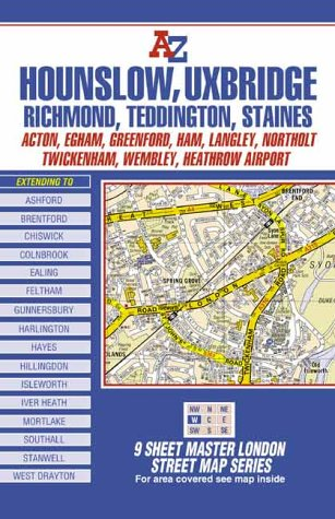 9780850399561: A-Z Master Map of West London (London Street Maps)