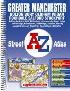 9780850399592: A-Z Street Atlas of Greater Manchester (A-Z Street Maps & Atlases)