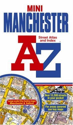 A-Z Manchester Mini Street Atlas (Street Maps: Geographers A-Z Map