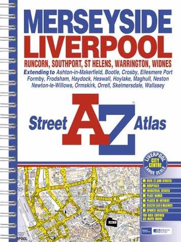 9780850399653: A-Z Street Atlas of Merseyside