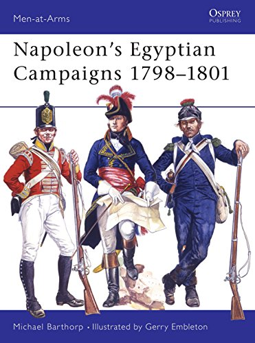 9780850451269: Napoleon's Egyptian Campaigns, 1798-1801 (Men-at-Arms)