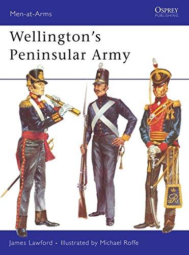 9780850451450: Wellington's Peninsular Army (Men-at-Arms)