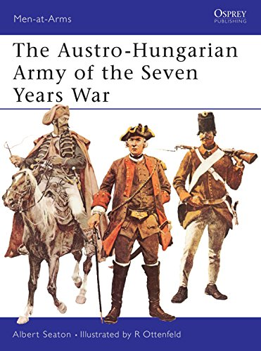 9780850451498: The Austro-Hungarian Army of the Seven Years War (Men-at-Arms)