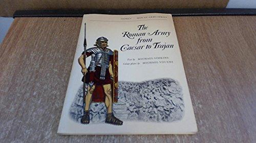 9780850451917: Roman Army from Caesar to Trajan (Men-at-Arms)