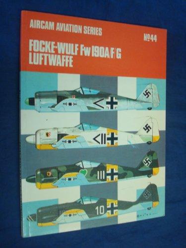 9780850452037: Focke Wulf 190A/F/G (Aircam Aviation)