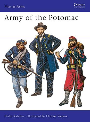 9780850452082: Army of the Potomac (Men-at-Arms)