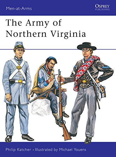 9780850452105: The Army of Northern Virginia (Men at Arms Series, 37)