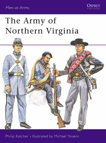 9780850452105: The Army of Northern Virginia (Men-at-Arms)
