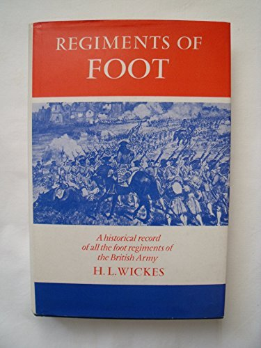 Regiments of Foot: Historical Record of All: Wickes, H. L.