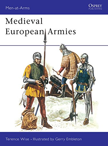 9780850452457: Medieval European Armies 1300-1500 (Men at Arms Series, 50)