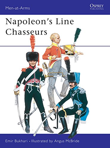 9780850452693: Napoleon's Line Chasseurs (Men-at-Arms)