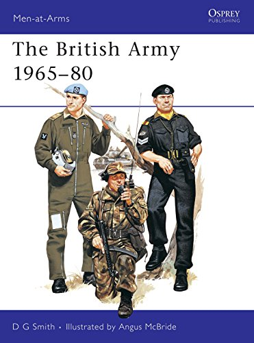 9780850452730: The British Army 1965-80 : Combat and Service Dress (Men at Arms Series, 71)