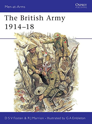 9780850452877: The British Army 1914-18 (Men-at-Arms)